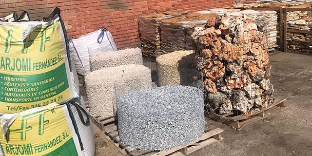 Piedras y Pizarras inicio Arjomi